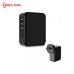 TEKSON ELECTRONICA - CARGADOR USB x 3 6 AMP.