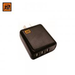 TEKSON ELECTRONICA - JA - CARGADOR USB X 3 - 3 AMP.