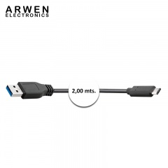 TEKSON ELECTRONICA - USB A - TIPO C 3,0