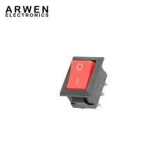 TEKSON-ELECTRONICA-Tecla-Interruptora-INVERSORA-SIMPLE-3-Patas-Color-Negra